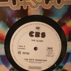 Discos de vinilo: THE CLASH / ADAM AND THE ANTS / EDICIÓN ESPAÑOLA / PROMOCIONAL / CBS 1981. Lote 283186643
