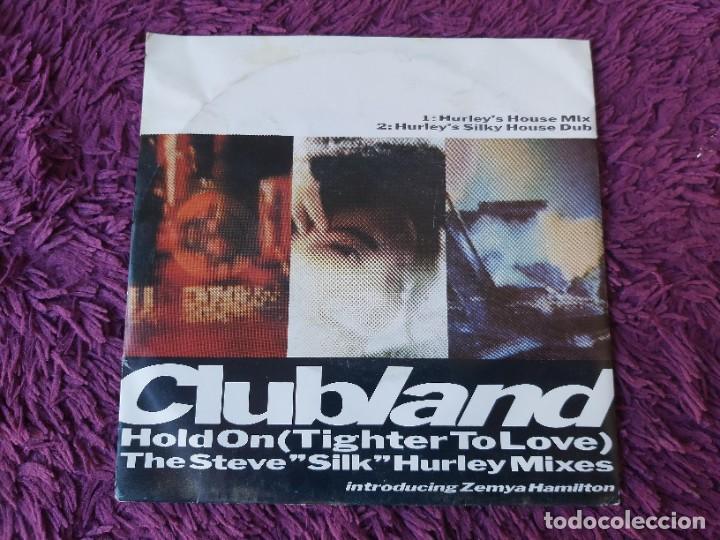 "CLUBLAND INTRODUCING ZEMYA HAMILTON – HOLD ON ,VINYL 7"" SINGLE UK 1989 9031-75624-7 (Música - Discos - Singles Vinilo - Techno, Trance y House)"