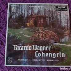 "Dischi in vinile: WAGNER – LOHENGRIN EXCERPTS ,VINYL 7"" SINGLE 1958 SPAIN 402035 NE. Lote 283202603"