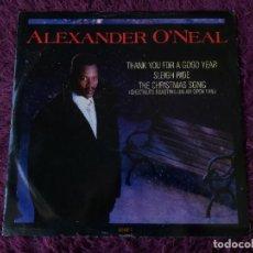 "Discos de vinilo: ALEXANDER O'NEAL – THANK YOU FOR A GOOD YEAR ,VINYL 12"" 1988 UK 653182 6. Lote 283220288"