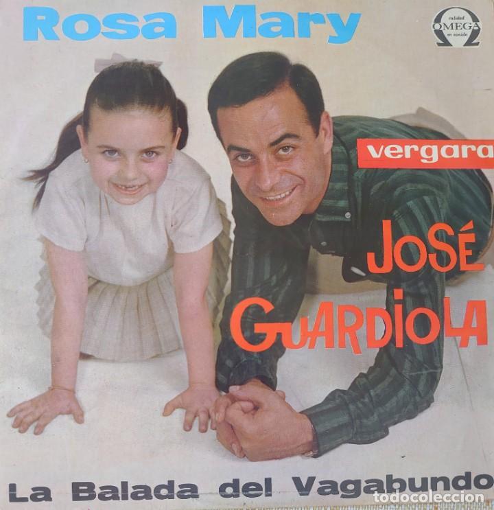 JOSÉ GUARDIOLA LP SELLO OMEGA EDITADO EN MÉXICO (Música - Discos - LP Vinilo - Solistas Españoles de los 70 a la actualidad)
