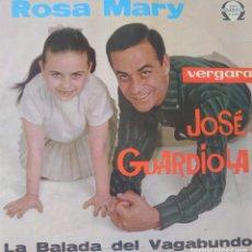Discos de vinilo: JOSÉ GUARDIOLA LP SELLO OMEGA EDITADO EN MÉXICO. Lote 283238803