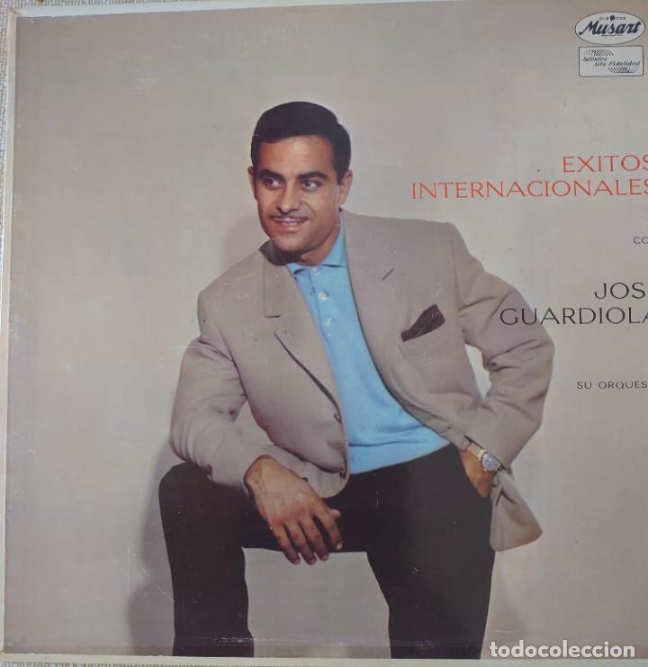 JOSÉ GUARDIOLA LP SELLO MUSART EDITADO EN MÉXICO.. (Música - Discos - LP Vinilo - Solistas Españoles de los 70 a la actualidad)