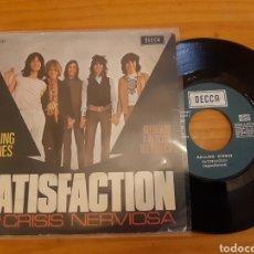 Discos de vinilo: ROLLING STONES. SATISFACTION. 1971. ESP.. Lote 283314298