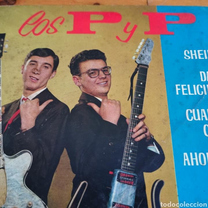Discos de vinilo: Disco de vinilo de 45rpm de Los P y P de 1963 - Foto 2 - 283321388