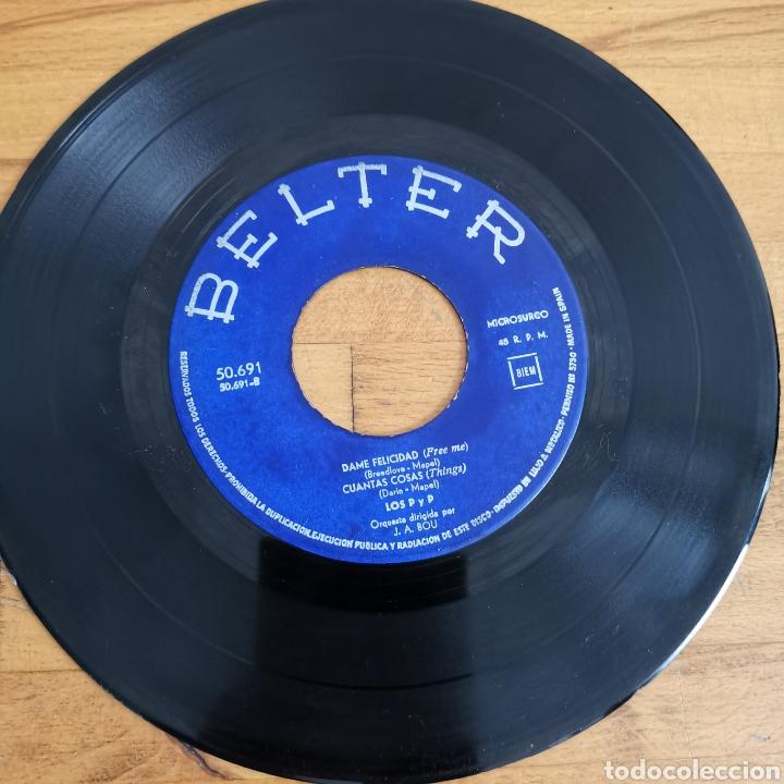Discos de vinilo: Disco de vinilo de 45rpm de Los P y P de 1963 - Foto 3 - 283321388