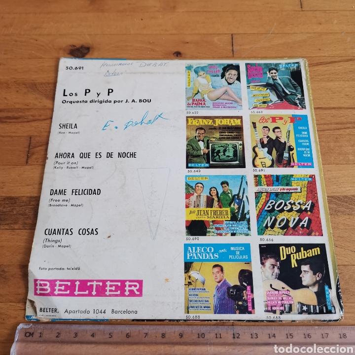 Discos de vinilo: Disco de vinilo de 45rpm de Los P y P de 1963 - Foto 4 - 283321388