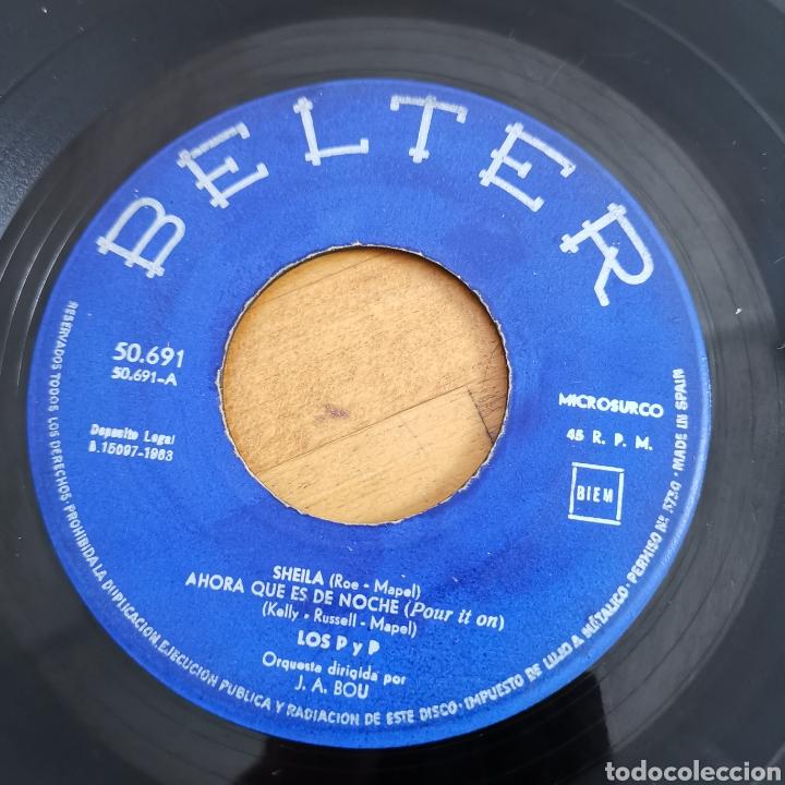 Discos de vinilo: Disco de vinilo de 45rpm de Los P y P de 1963 - Foto 5 - 283321388