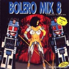 Discos de vinilo: BOLERO MIX 8 * 2LP * QUIQUE TEJADA MIX * BLANCO Y NEGRO 1991 * CHIMO BAYO. Lote 283387368