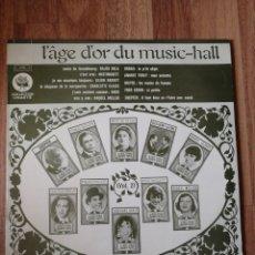 Discos de vinil: VINILO LP L'AGE D'OR DU MUSIC-HAL RAQUEL MELLER, BACH. Lote 283392643