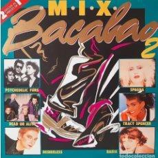 Discos de vinilo: BACALAO MIX 2 * 2LP * 1987 * PSYCHEDELIC FURS / DEAD OR ALIVE / DESIRELESS. Lote 283397368
