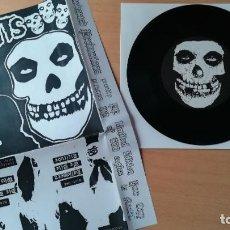 Discos de vinilo: EP MISFITS EVIL FIVE - 145 ED LIMITADA 500 COPIAS NUMERADAS - SAMHAIN - DANZIG - PUNK ROCK. Lote 283397918