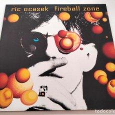 Discos de vinilo: VINILO LP DE RIC OCASEK. FIREBALL ZONE. 1991.. Lote 283446873