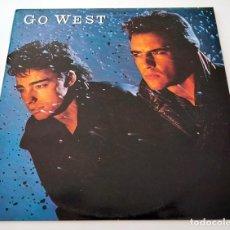 Discos de vinilo: VINILO LP DE GO WEST. GO WEST. 1985.. Lote 283451738