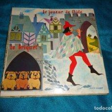 Discos de vinilo: CLAUDE WINTER. LE JOUEUR DE FLUTE / LE BRIQUET. ( CUENTOS POPULARES) EDC. FRANCIA(#). Lote 283451838