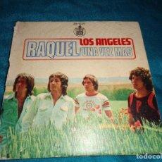 Discos de vinilo: LOS ANGELES. RAQUEL / UNA VEZ MAS. HISPAVOX, 1975. ( VINILO IMPECABLE). Lote 283455953