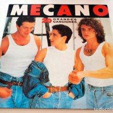 Discos de vinilo: VINILO LP DOBLE RECOPILATORIO DE MECANO. 20 GRANDES CANCIONES. 1989.. Lote 283464958