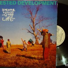 Discos de vinilo: ARRESTED DEVELOPMENT 3 YEARS, 5 MONTHS, AND 2 DAYS.. LP SPAIN 1993 PDELUXE. Lote 283465053