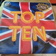 Discos de vinil: TOP TEN. DISCO + MAXI. Lote 283482393