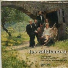 Dischi in vinile: LOS VALLDEMOSA / CUAC CUAC / QUE NADIE SEPA MI SUFRIR (SINGLE BELTER 1971). Lote 283498363