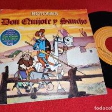 Dischi in vinile: BOTONES DON QUIJOTE Y SANCHO/INSTRUMENTAL 7'' SINGLE 1979 EPIC JUAN PARDO BSO OST TV. Lote 283507608