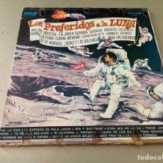 Discos de vinilo: LP VINILO RECOPILATORIO LOS PREFERIDOS A LA LUNA PALITO ORTEGA MARISOL DYANGO LOS IN LOS IRACUNDOS. Lote 283621788