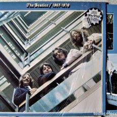 Discos de vinilo: THE BEATLES 1967-1970...2 LP´S COMO NUEVOS...VINILOS AZULES ESPECIAL EDITION.UK.1994..DIFICIL. Lote 283664028