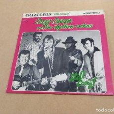 Discos de vinilo: LP 10 PULGADAS CRAZY CAVAN AND THE RHYTHM ROCKERS - STILL CRAZY - DEDICATORIAS L. NEEDS Y S. VANCE. Lote 283664488