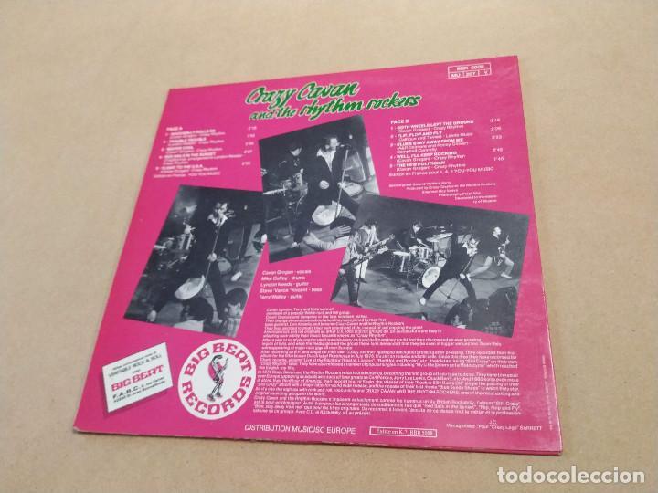 Discos de vinilo: LP 10 PULGADAS CRAZY CAVAN AND THE RHYTHM ROCKERS - STILL CRAZY - DEDICATORIAS L. NEEDS Y S. VANCE - Foto 4 - 283664488