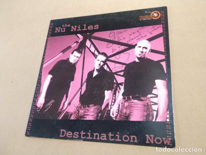 LP THE NU NILES - DESTINATION NOW - DEDICATORIA EN PORTADA (Música - Discos - LP Vinilo - Rock & Roll)
