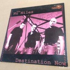 Discos de vinilo: LP THE NU NILES - DESTINATION NOW - DEDICATORIA EN PORTADA. Lote 283664698