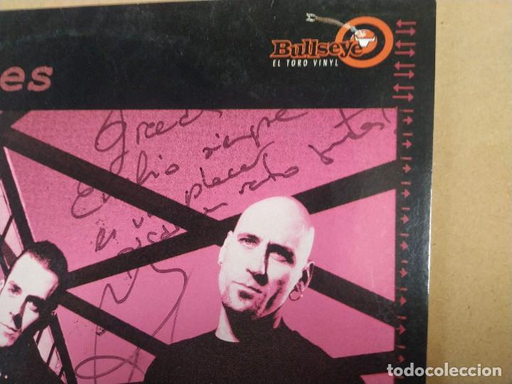Discos de vinilo: LP THE NU NILES - DESTINATION NOW - DEDICATORIA EN PORTADA - Foto 2 - 283664698