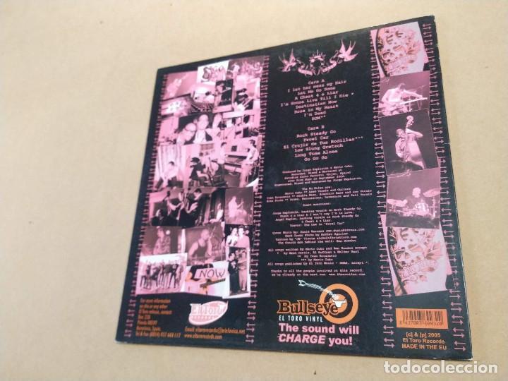 Discos de vinilo: LP THE NU NILES - DESTINATION NOW - DEDICATORIA EN PORTADA - Foto 4 - 283664698