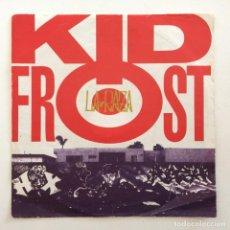 Discos de vinilo: KID FROST – LA RAZA (LA RAZA MIX) / IN THE CITY UK,1990 VIRGIN AMERICA. Lote 283704403