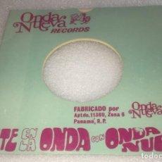 Discos de vinil: SINGLE ESTE EN LA ONDA CON ONDA NUEVA - RALLANDO - SOY DE MI NEGRA - DORINDO -PEDIDO MINIMO 7€. Lote 283705473