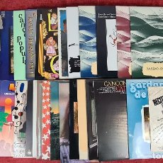 Discos de vinilo: 35 DISCOS DE VINILO. MUSICA POPULAR CATALANA. VARIOS ARTISTAS. SIGLO XX.. Lote 283790093