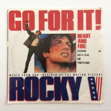Discos de vinilo: JOEY B. ELLIS AND TYNETTA HARE – GO FOR IT! (HEART AND FIRE) EUROPE,1990 CAPITOL RECORDS. Lote 283805223