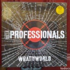 Discos de vinilo: THE PROFESSIONALS –WHAT IN THE WORLD. LP VINILO PRECINTADO.. Lote 283878183
