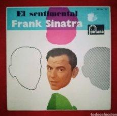 """Discos de vinilo: 1962 ANTIGUO VINILO 7""""45 RPM E. FRANK SINATRA EL SENTIMENTAL ALL THE THINGS YOU ARE, BODY AND SOUL... Lote 283898418"""