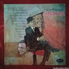 Discos de vinilo: 1972 ANTIGUO VINILO LP ÁLBUM. REINO UNIDO. FRANK SINATRA NICE 'N' EASY. SELLO CAPITOL RECORDS.. Lote 283910723