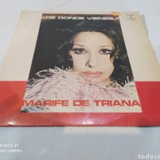 Discos de vinilo: VINILO LP MARIFE DE TRIANA DE DONDE VIENES?. Lote 283919768