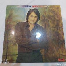 Discos de vinilo: VINILO LP MI TIERRA NINO BRAVO. Lote 283920198