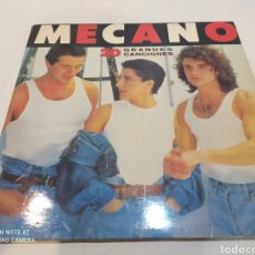 Discos de vinilo: DOBLE LP MECANO 20 GRANDES CANCIONES. Lote 283921088