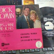 Discos de vinilo: DICK ROMÁN EP DAYS OF WINE AND ROSES + 3 ESPAÑA 1963. Lote 283971438