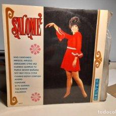 Discos de vinilo: LP SALOME ( VIVO CANTANDO, ADORO, PALABRAS, AMIGOS AMIGOS, ABRAZAME OTRA VEZ, ETC ). Lote 283986828
