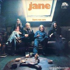 Disques de vinyle: JANE - HERE WE ARE (LP, ALBUM) (BRAIN - 0001.032). Lote 284028818