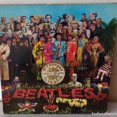 Discos de vinilo: THE BEATLES - SGT PEPPER´S LONELY HEARTS CLUB BAND PARLOPHONE EDIC. SUECA - 1967 GAT. Lote 284097618