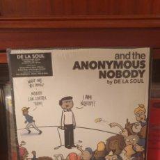 Discos de vinil: DE LA SOUL / ANONYMOUS NOBODY / GATEFOLD / DOBLE ALBUM / AOI RECORDS 2016. Lote 284104738