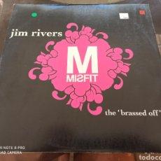 "Discos de vinilo: JIM RIVERS - THE 'BRASSED OFF' EP (12"", EP). Lote 284132028"