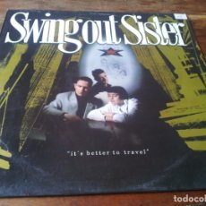 Dischi in vinile: SWING OUT SISTER - IT'S BETTER TO TRAVEL - LP ORIGINAL MERCURY 1987 EN BUEN ESTADO. Lote 284154538